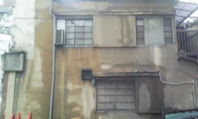 壁のシミ絵